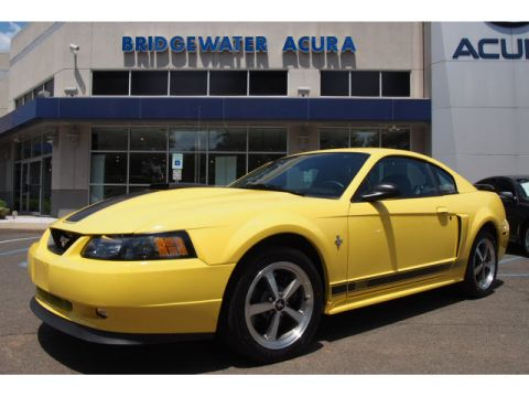 Pre-Owned 2003 Ford Mustang Mach 1 Premium RWD Mach 1 2dr Coupe