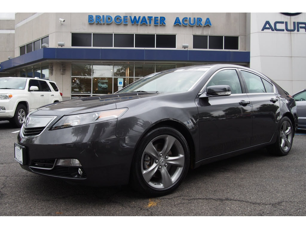 Pre-Owned 2013 Acura TL SH-AWD 6-Speed Manual with Technology Package Sedan in Bridgewater # ...