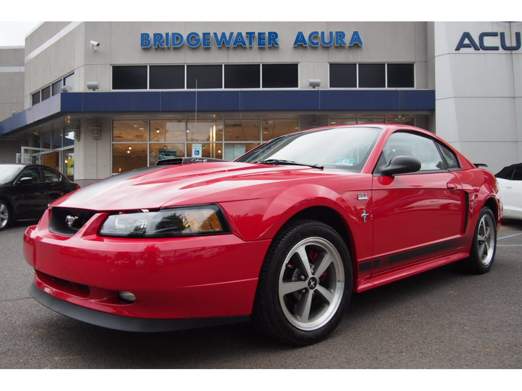 pre owned 2003 ford mustang mach 1 premium coupe in. Black Bedroom Furniture Sets. Home Design Ideas