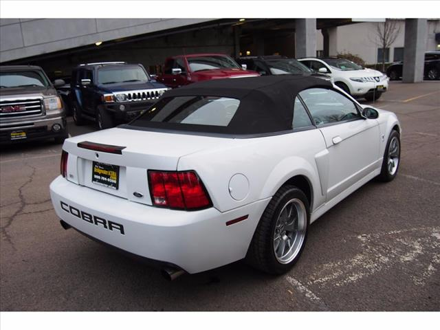 Pre-Owned 2003 Ford Mustang SVT Cobra Base SVT Cobra 2dr Supercharged Convertible in Bridgewater ...