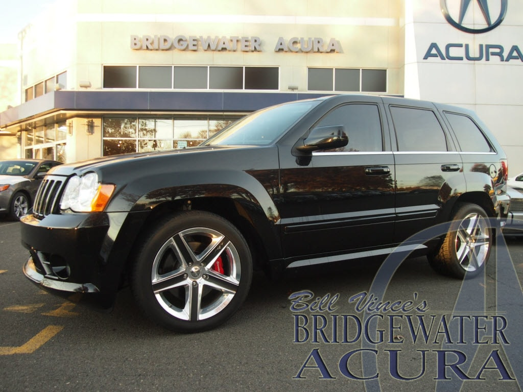pre-owned 2008 jeep grand cherokee srt8 suv in bridgewater #p8533s
