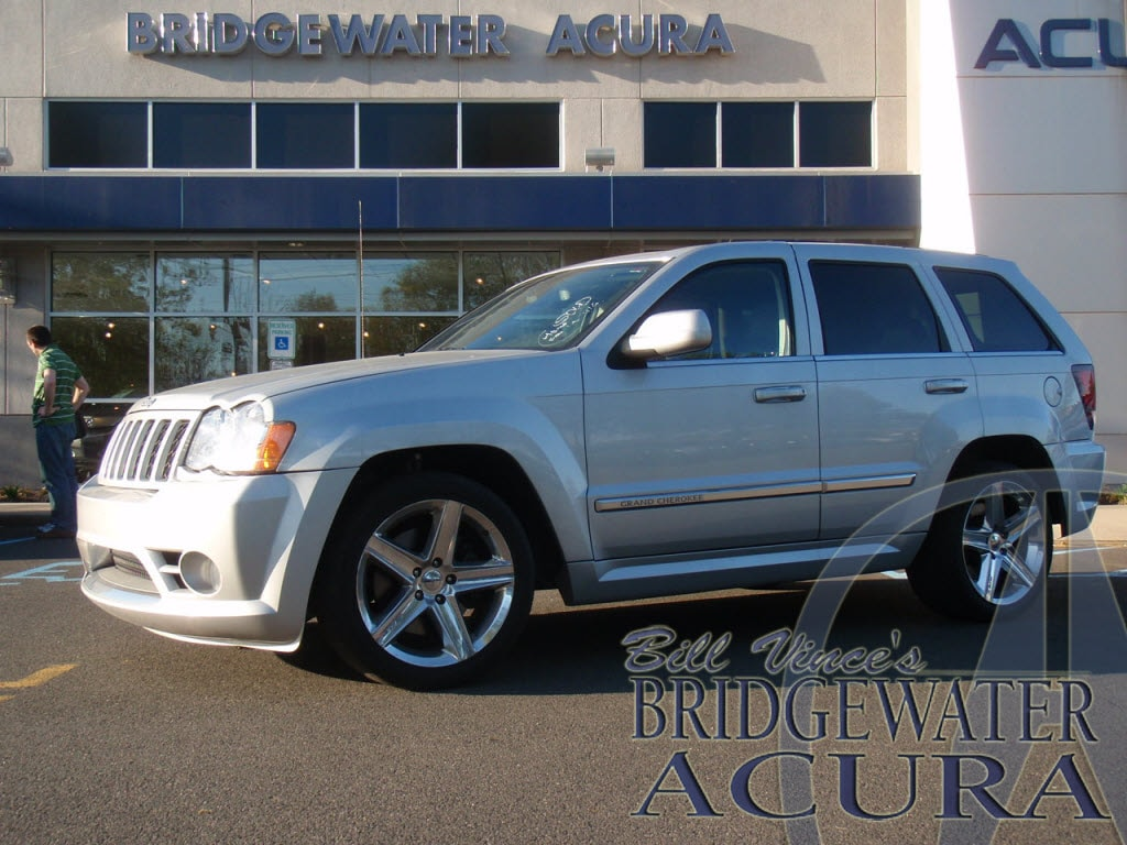 pre-owned 2008 jeep grand cherokee srt8 suv in bridgewater #p7307s