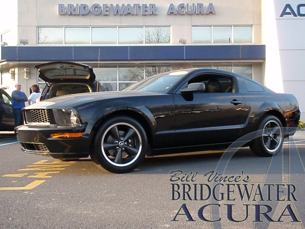 pre owned 2008 ford mustang gt bullitt coupe in bridgewater p6533s bill vince s bridgewater acura. Black Bedroom Furniture Sets. Home Design Ideas