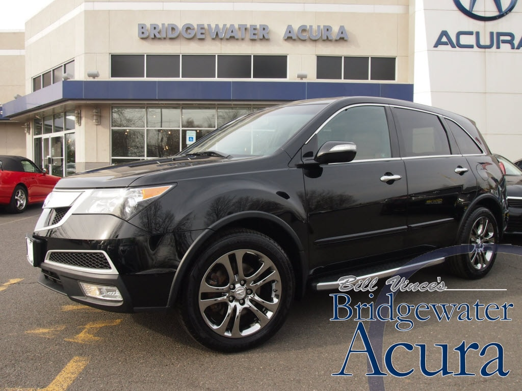 Pre-Owned 2010 Acura MDX 3.7L Advance Pkg w/Entertainment Pkg Super Handlin