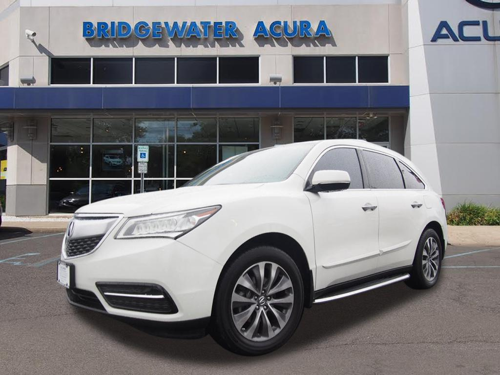 pre owned 2014 acura mdx sh awd w tech sh awd suv w. Black Bedroom Furniture Sets. Home Design Ideas