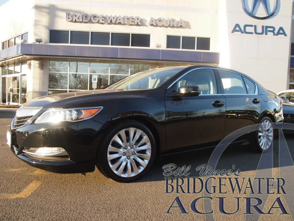 Pre-Owned 2014 Acura RLX With Advance Package Sedan in Bridgewater #64871AS | Bill Vince's ...
